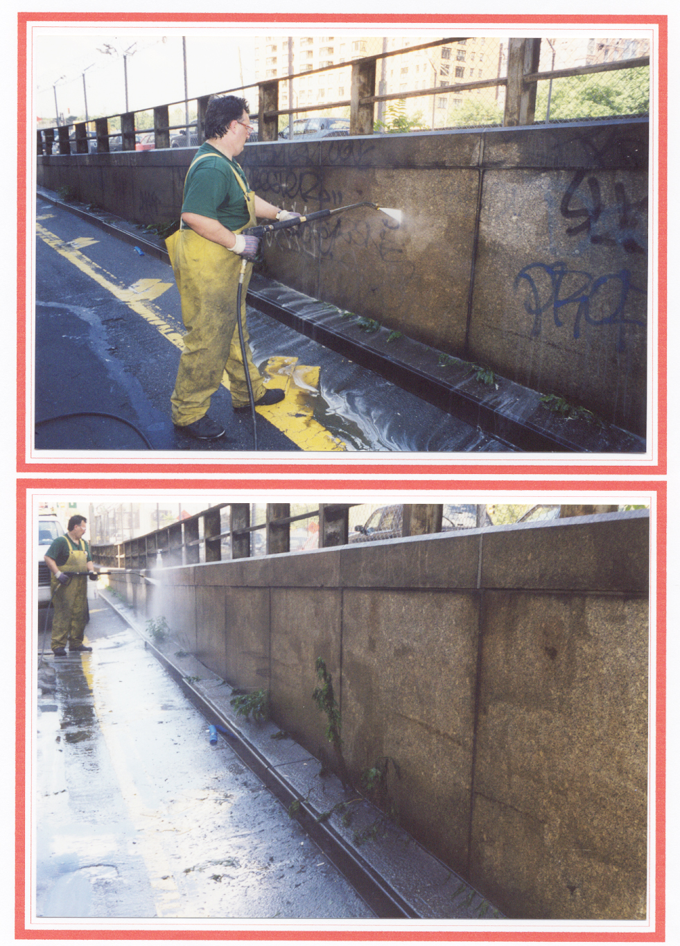 Graffiti Removal by Taginator Graffiti Remover